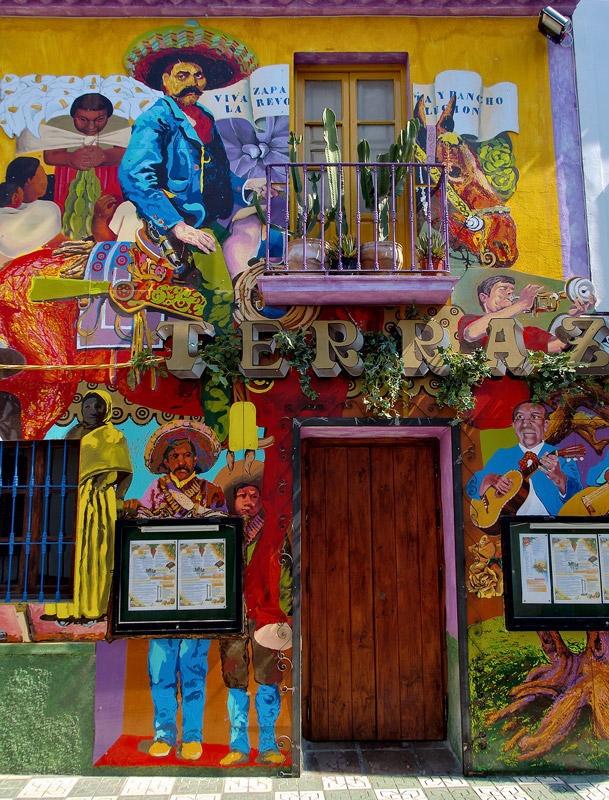 Restaurant mexicano spanish mexicana pinterest for Mural mexicano