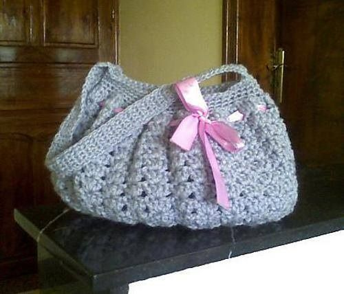 Hobo Bag Crochet : Crocheted hobo bag crafts Pinterest