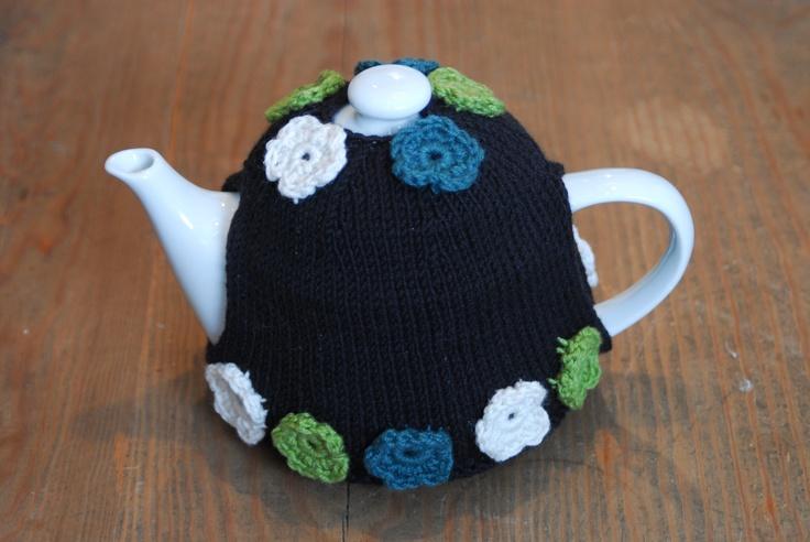 Afternoon tea Anybody?! What better than our handknitted teapot covers
