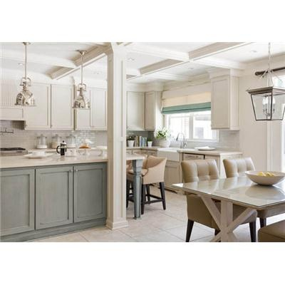 Light Traditional Kitchen by Tobi Fairley