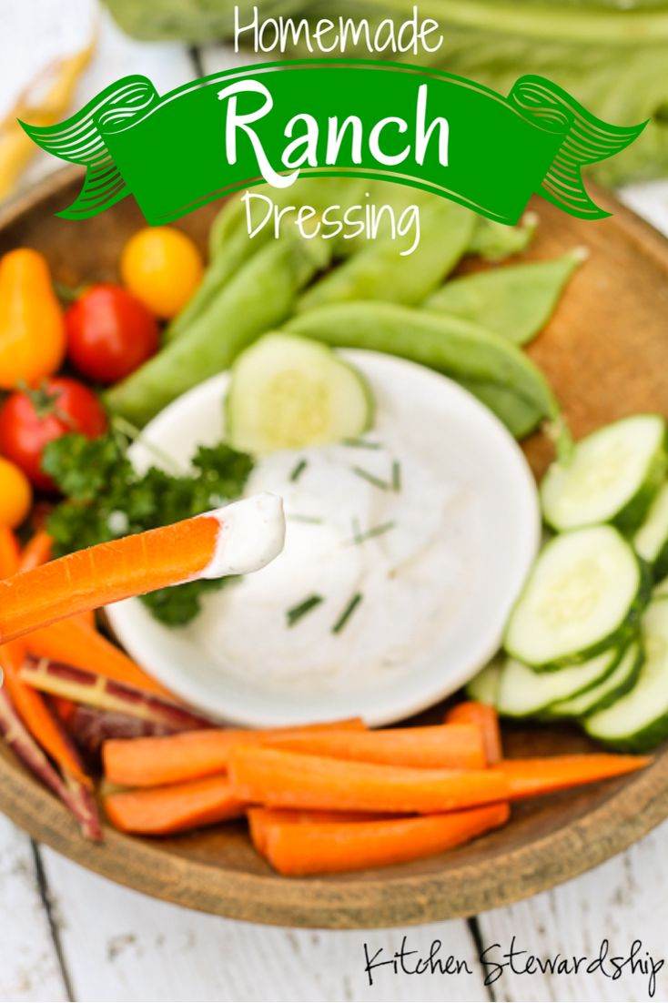 Looking for some party foods made with real food for the Big Game this weekend? Homemade ranch dressing mix, you can make it in bulk ahead of time and add the liquids just before serving!