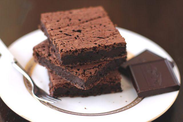 Healthy Fudgy Black Bean Brownies (sugar free, low fat, gluten free ...