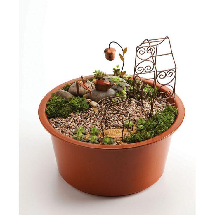 Fairy Garden Kit Fairy Garden Pinterest