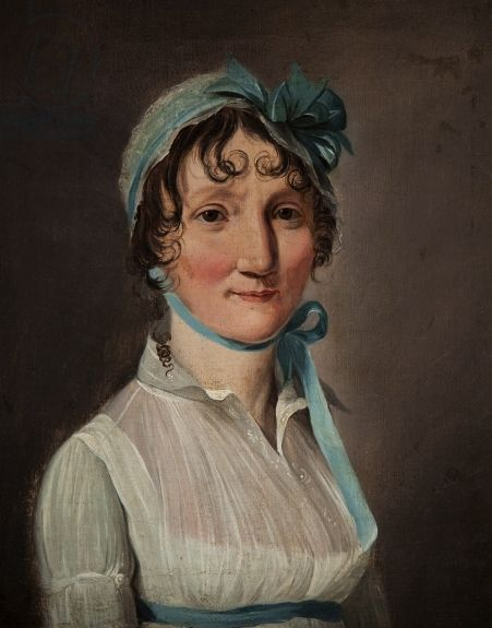 Portrait of jeanne louise henriette can oil on canvas by boilly