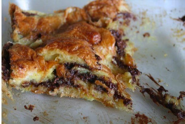 nutella banana and croissant nutella banana and croissant pudding ...