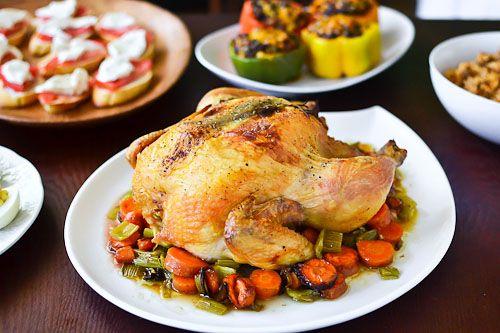 Rosemary Lemon Roast Chicken | Buck Buck! | Pinterest