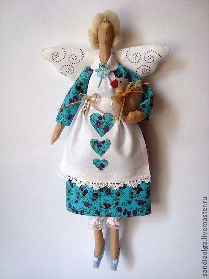 Куклы Тильды ручной работы. Ярмарка Мастеров - ручная работа Фея домашнего уюта. Handmade.