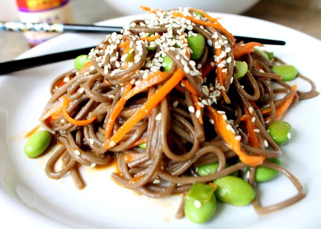 Soba Noodle | Food: Sides, Salads & Appetizers | Pinterest