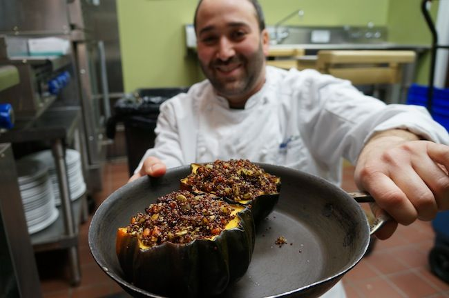 Squash Recipe with Quinoa, Root Vegetables, Toasted Pumpkin Seeds ...