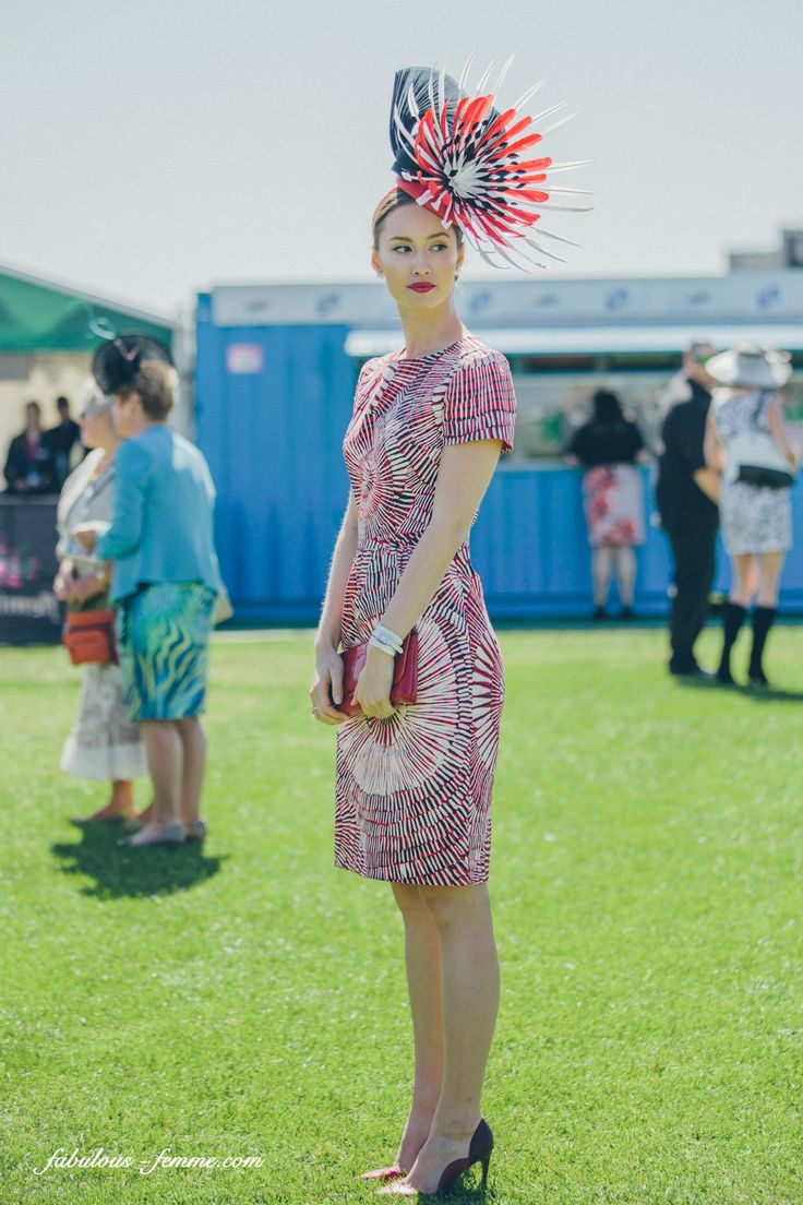 Melbourne Cup 2018 Fashion Tips, Dresses Hats - Punters 65