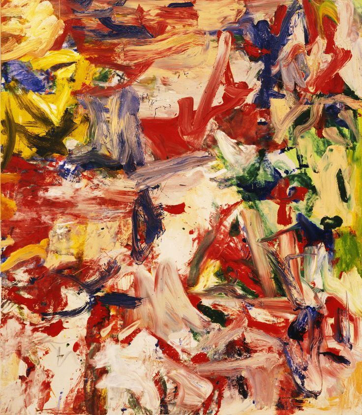 Willem de Kooning - Untitled XIXWillem De Kooning Abstract Expressionist Paintings