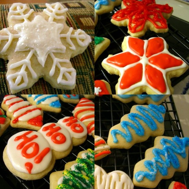 ... Cookies!! Soft Cutout Christmas Cookies Recipe from Baking Bites