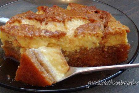 Crema de zahar ars cu blat de tort