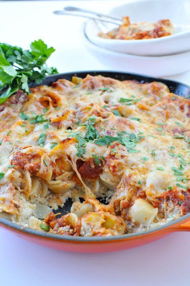Eggplant-Ricotta Pasta Bake | the pig & quill