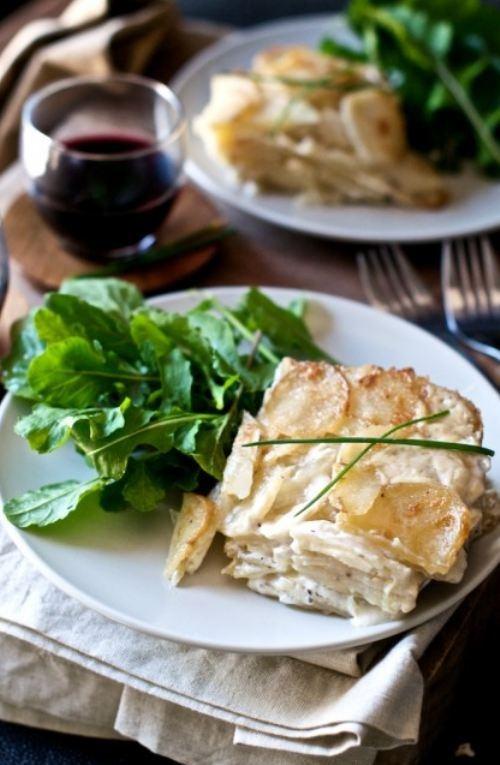 Creamy Potatoes Au Gratin | You Say Potato | Pinterest
