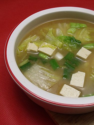 Easy Miso Soup | Soup~Salad~Sandwich's | Pinterest
