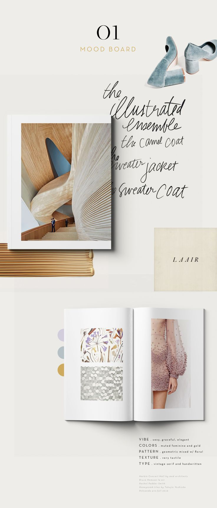 Graphic design inspiration  layout print editorial