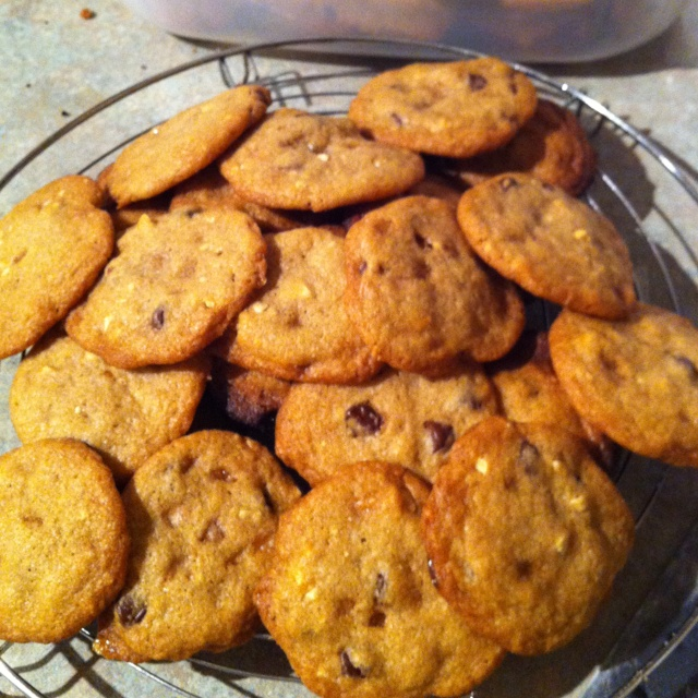 Keane's chocolate chip cookies with toffee bits... Yummy!!!!