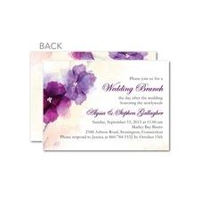 Edmonton Wedding Shower Invitations - Edmonton Wedding