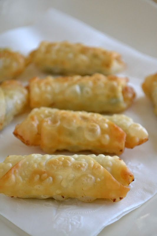 ... OClock Somewhere Friday: Mini Shrimp Rolls with Homemade Plum Sauce