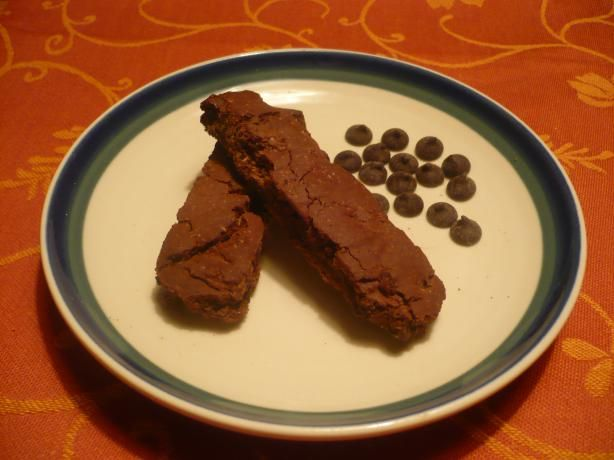 Gluten-Free Double Chocolate Biscotti from Food.com: These rich ...