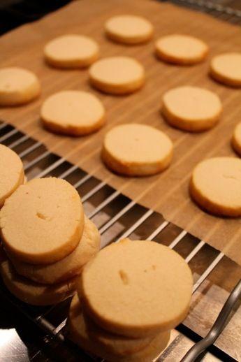 Vanilla almond shortbread cookies | Cookies | Pinterest