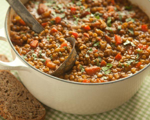 Easy Lentil Chili | Recipe