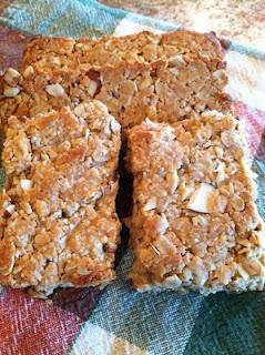 Homemade nutty granola bars   Favorite Recipes   Pinterest