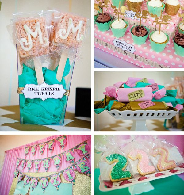 Carousel cupcake themed birthday party ideas supplies decor for 2nd birthday decoration ideas