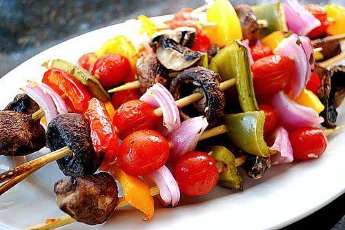 BBQ Vegetable Kabobs