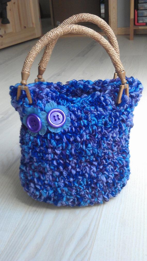 little crochet hand bag Made by My best friend Pinterest
