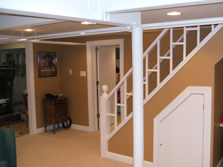 Basement stairs finished basement ideas pinterest - Basement stair ideas pinterest ...
