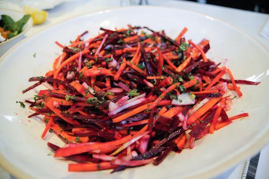 root vegetable slaw | vegetarian | Pinterest