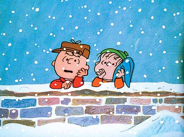 Charlie Brown and Linus.