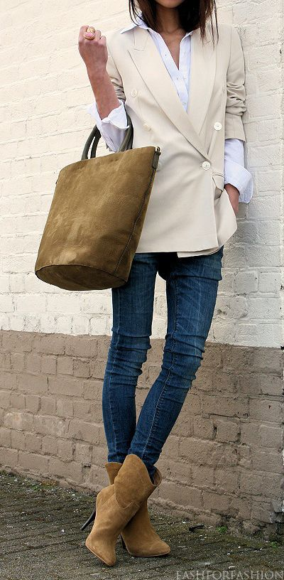Classic Neutrals And Jeans