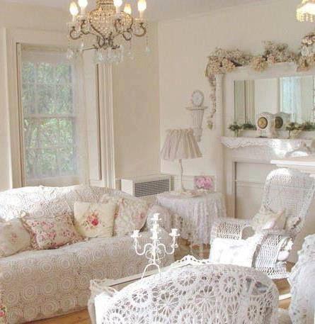 Shabby Chic Living Room Shabby Chic Decor Pinterest