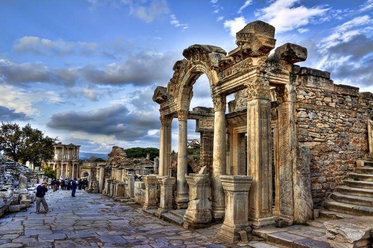 Temple of Hadrian  Ephesus  Pinterest