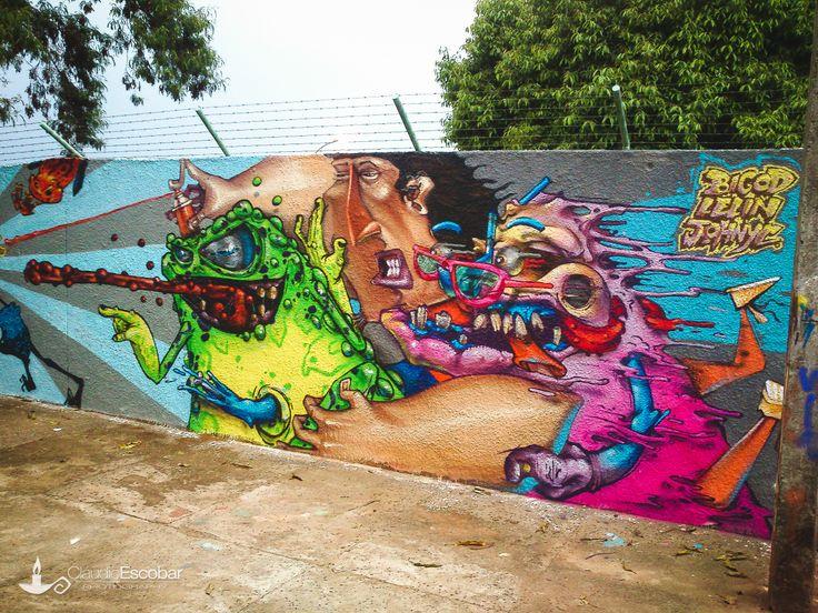 Graffiti monsters | Graffiti | Pinterest