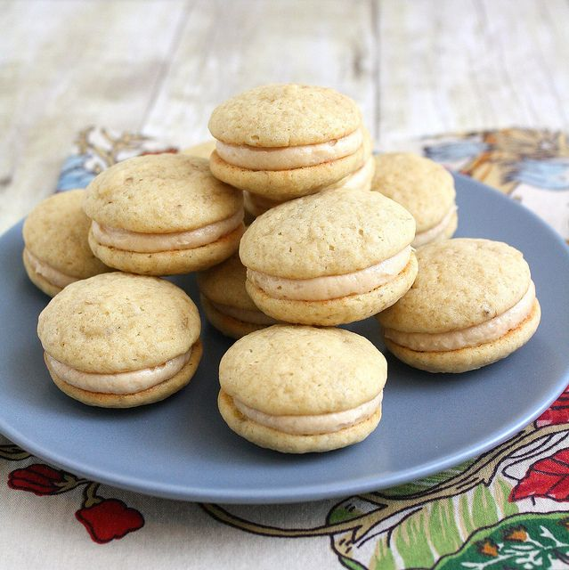 Peanut Butter and Banana Whoopie Pies by Tracey's Culinary Adventures ...