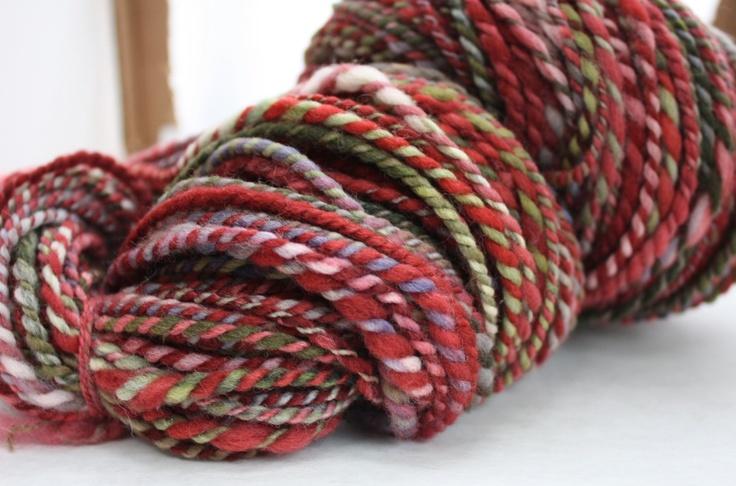 Handspun Yarn : handspun yarn - so pretty A little yarn crazy..... Pinterest