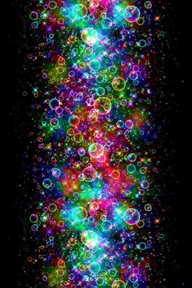 rainbow bubbles colorful - photo #8