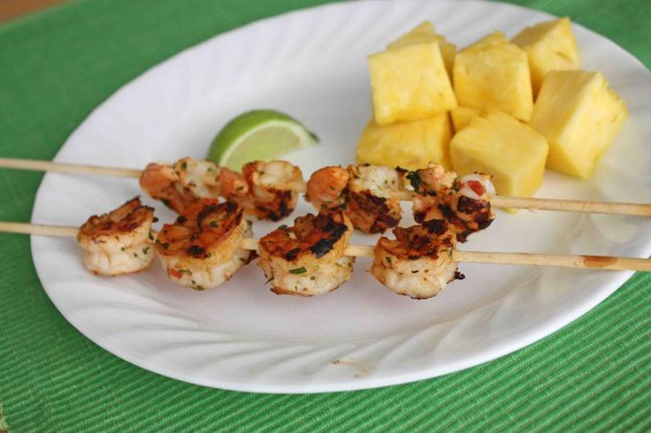 Chipotle Lime Shrimp Skewers I One Lovely Life