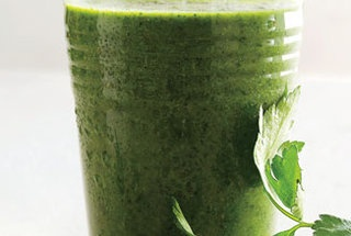 Parsley, Kale, and Berry Smoothie | Drink Menu | Pinterest