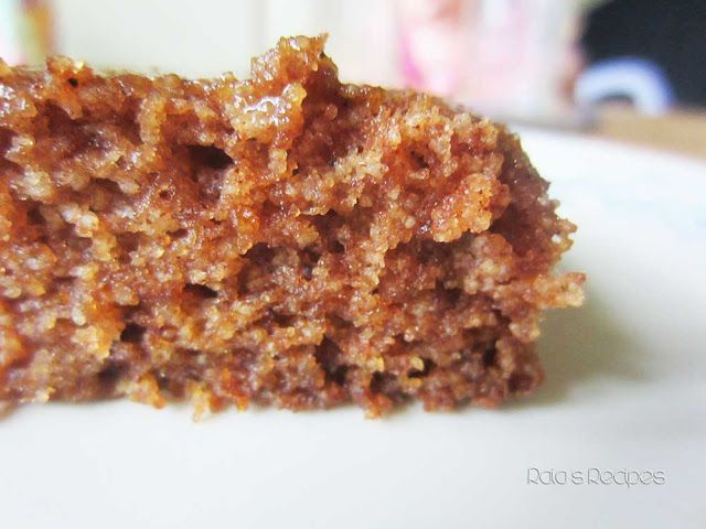Chewy Spiced Applesauce Cake by Raia's Recipes