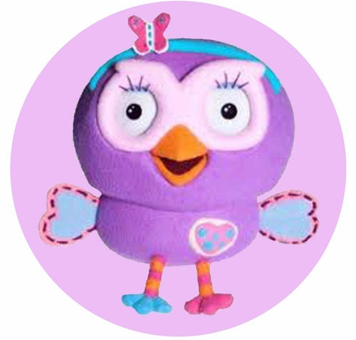 Giggle And Hoot Cake Topper