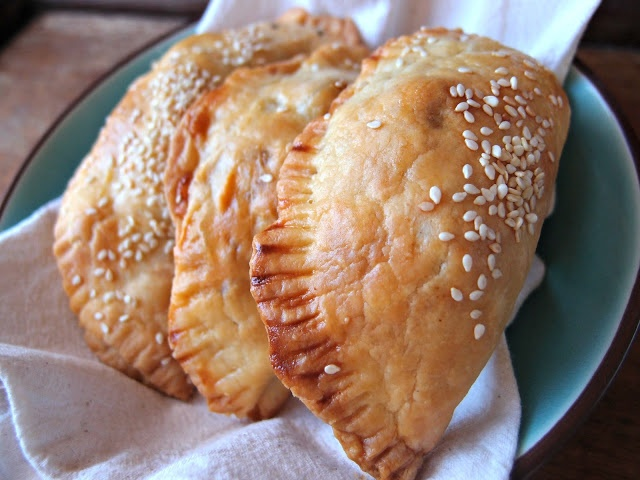 Olive and Chorizo Empanadas | Yummy | Pinterest