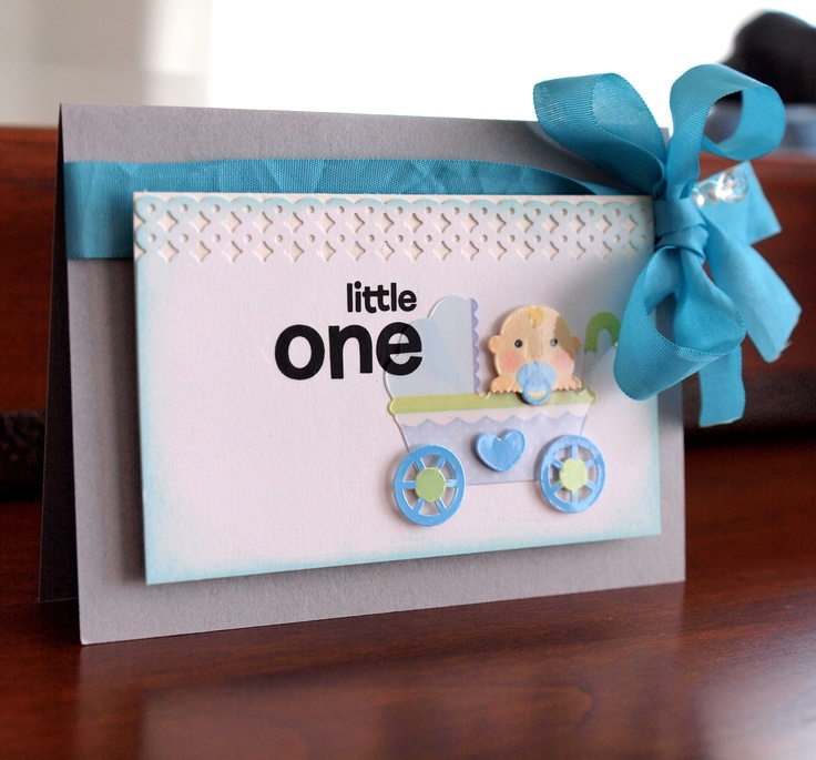 little one baby card - Scrapbook.com