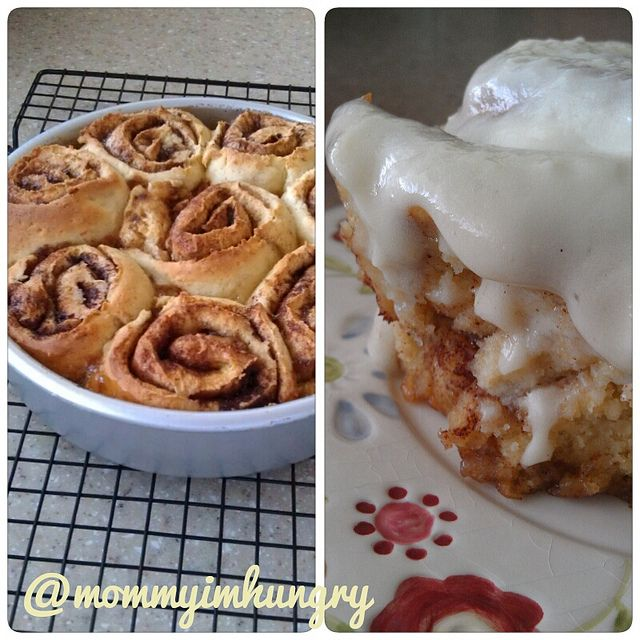 gluten free cinnamon rolls- this looks like too much work..I doubt it ...