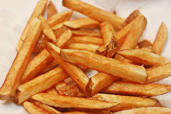 Homemade French Fries - it's amazing how many people are too afraid to ...