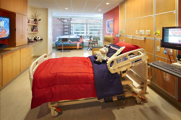 Child Hospital Patient Rooms